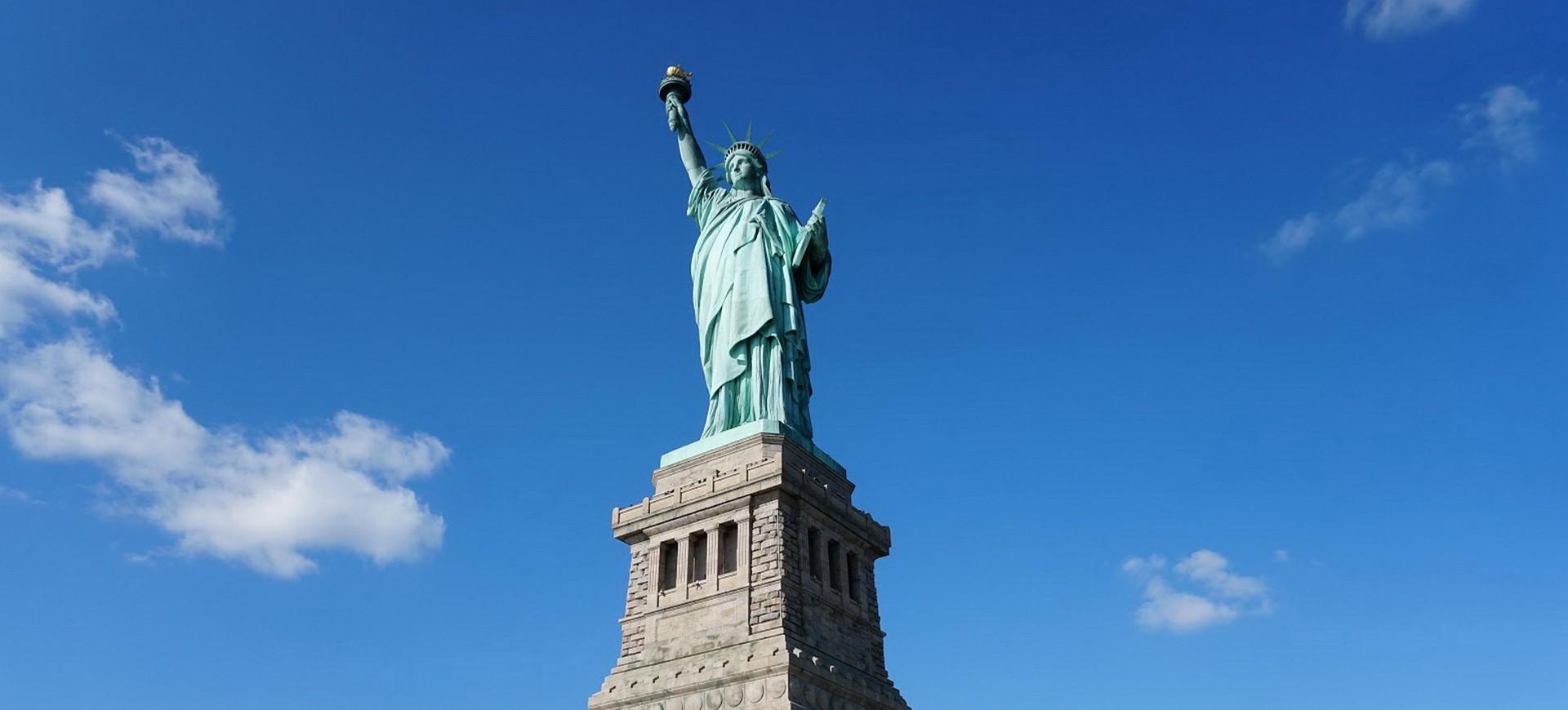 Etats Unis New York Statue de la Liberté