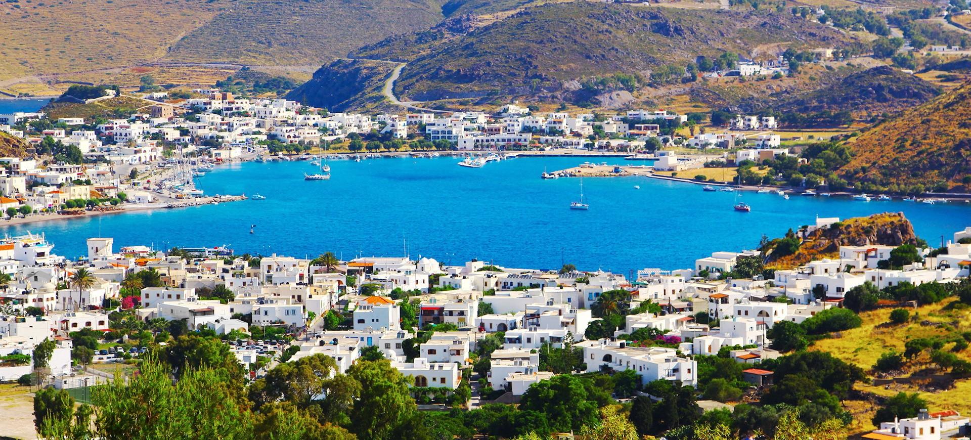 Ile de Patmos en Grèce