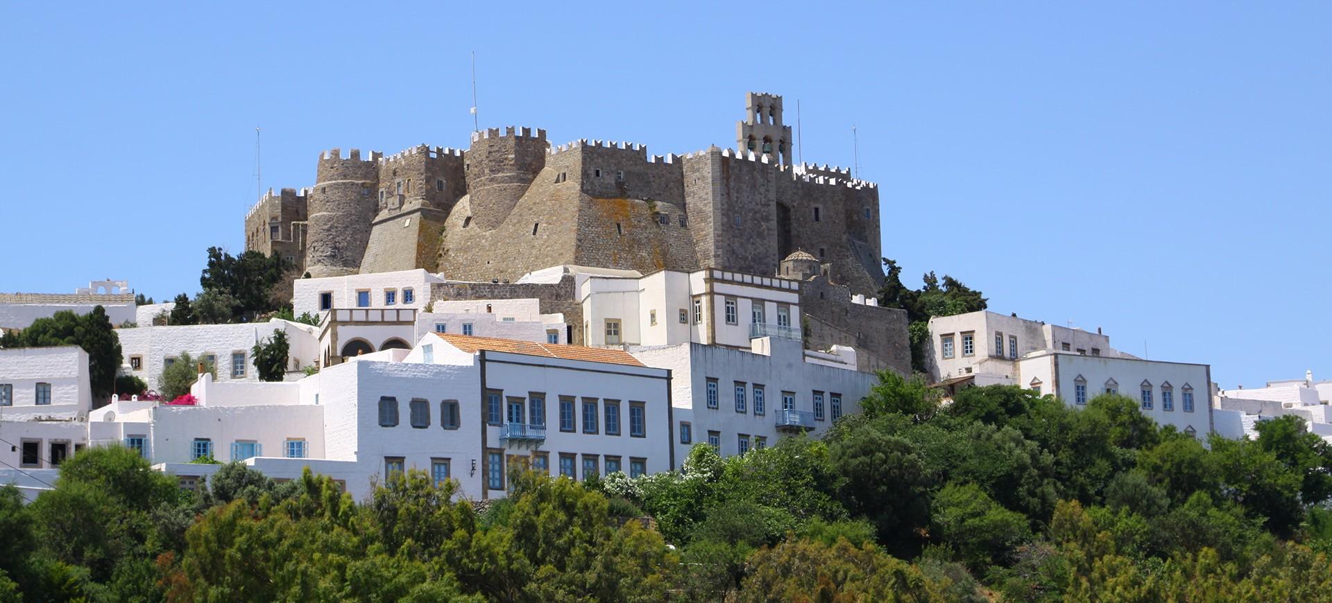 Monastère Saint Jean à Ile de Patmos en Grèce