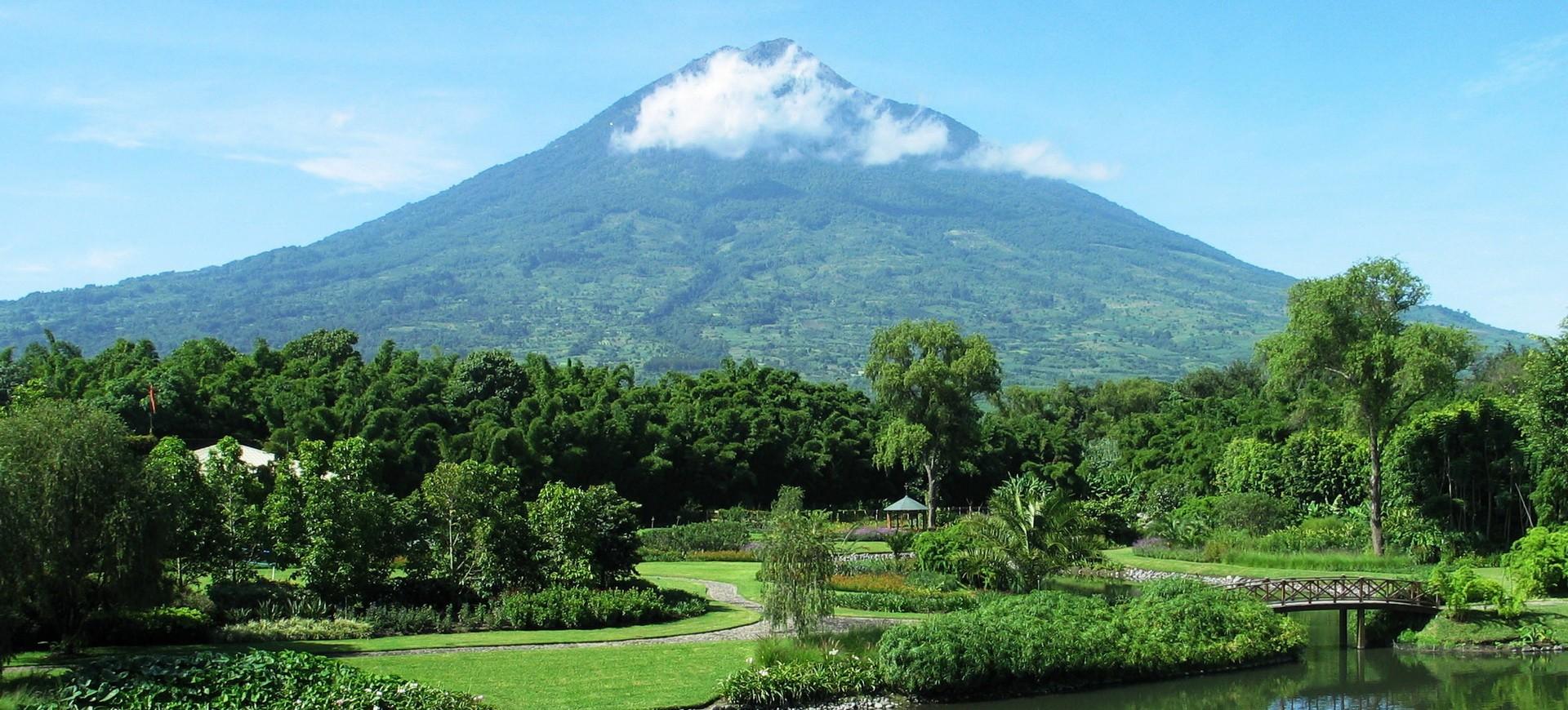 Volcan au Guatemala