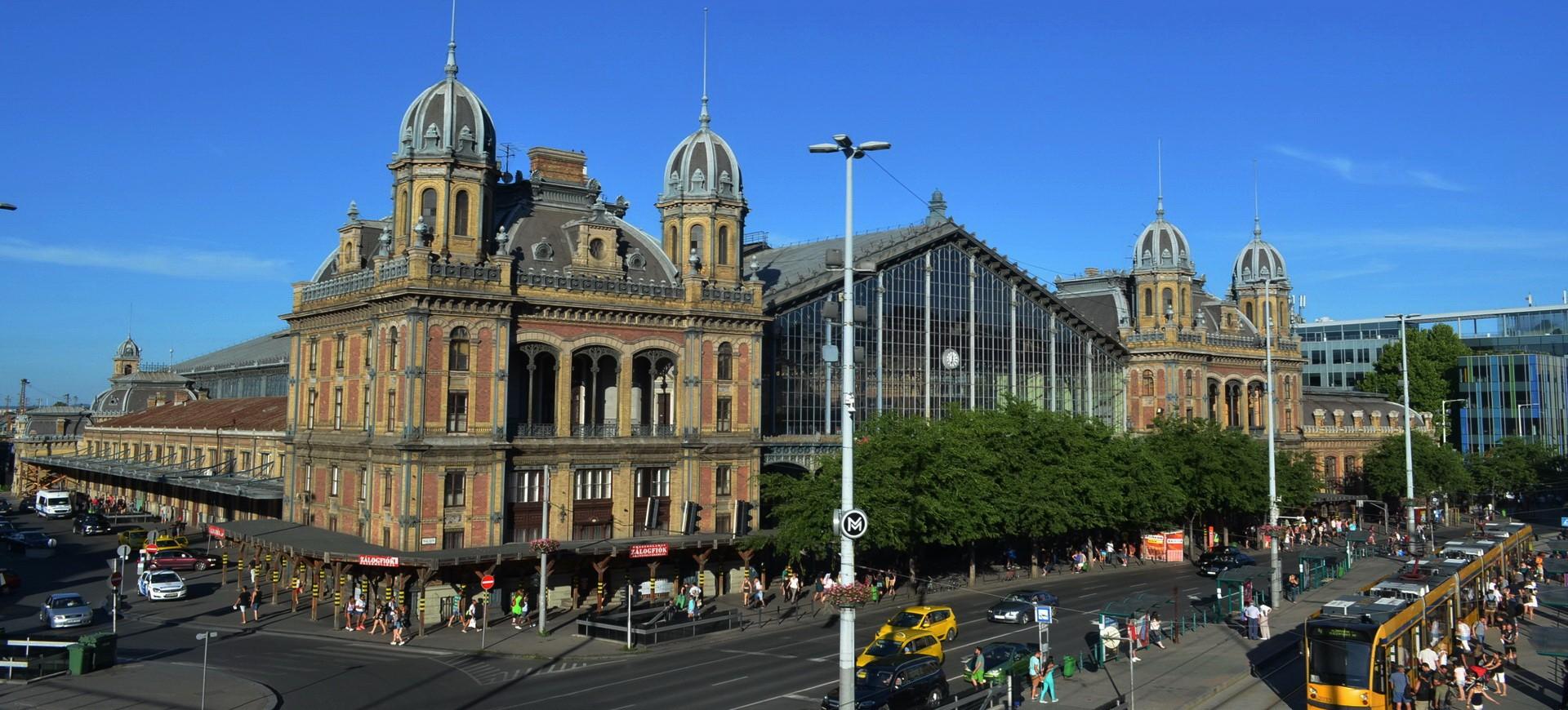 Hongrie Budapest Gare de Trains