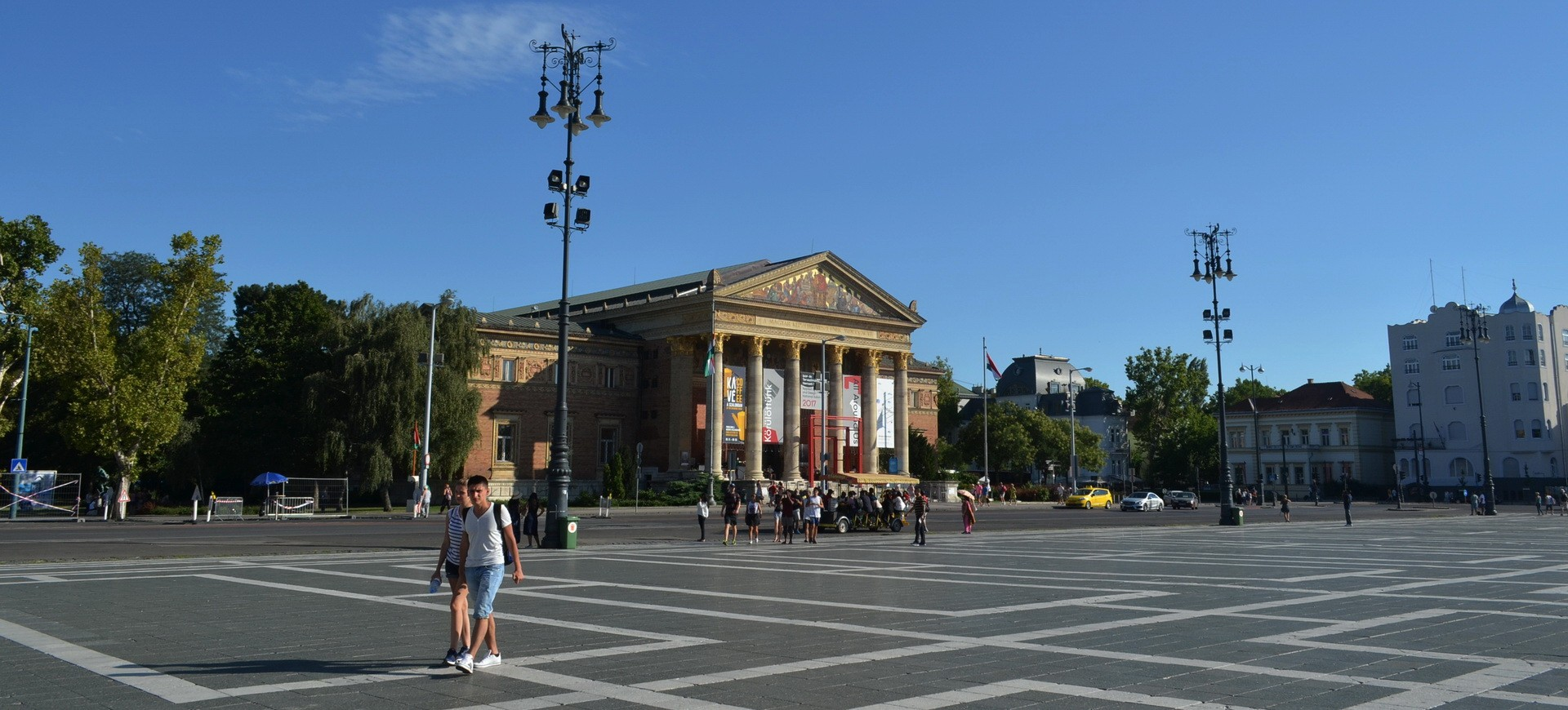 Hongrie Budapest Place des Héros