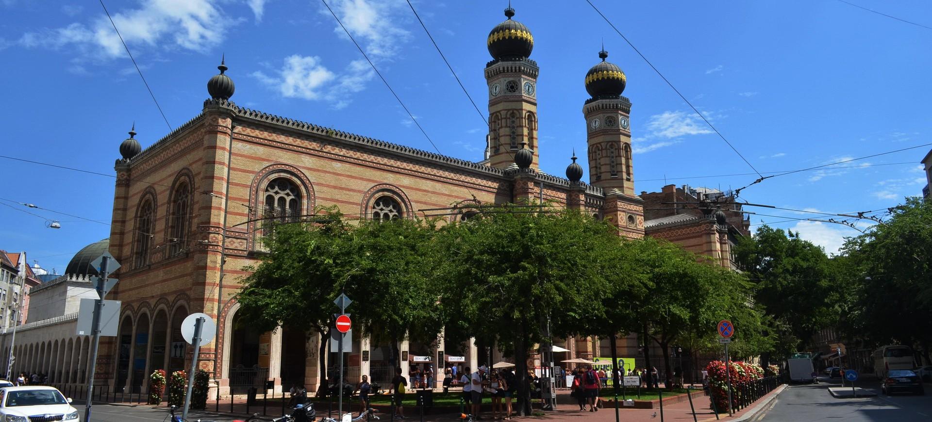 Hongrie Budapest Synagogue Dohány