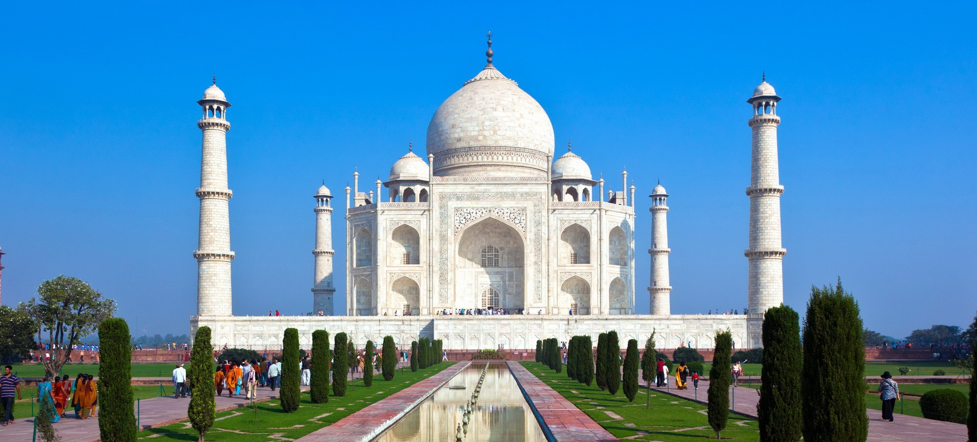 Inde Agra Taj Mahal monument Moghol