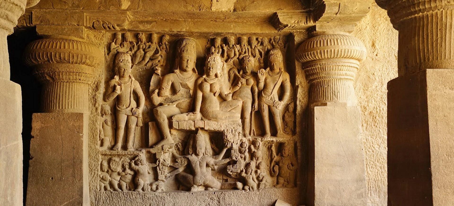 Inde Centrale Ajanta Grottes