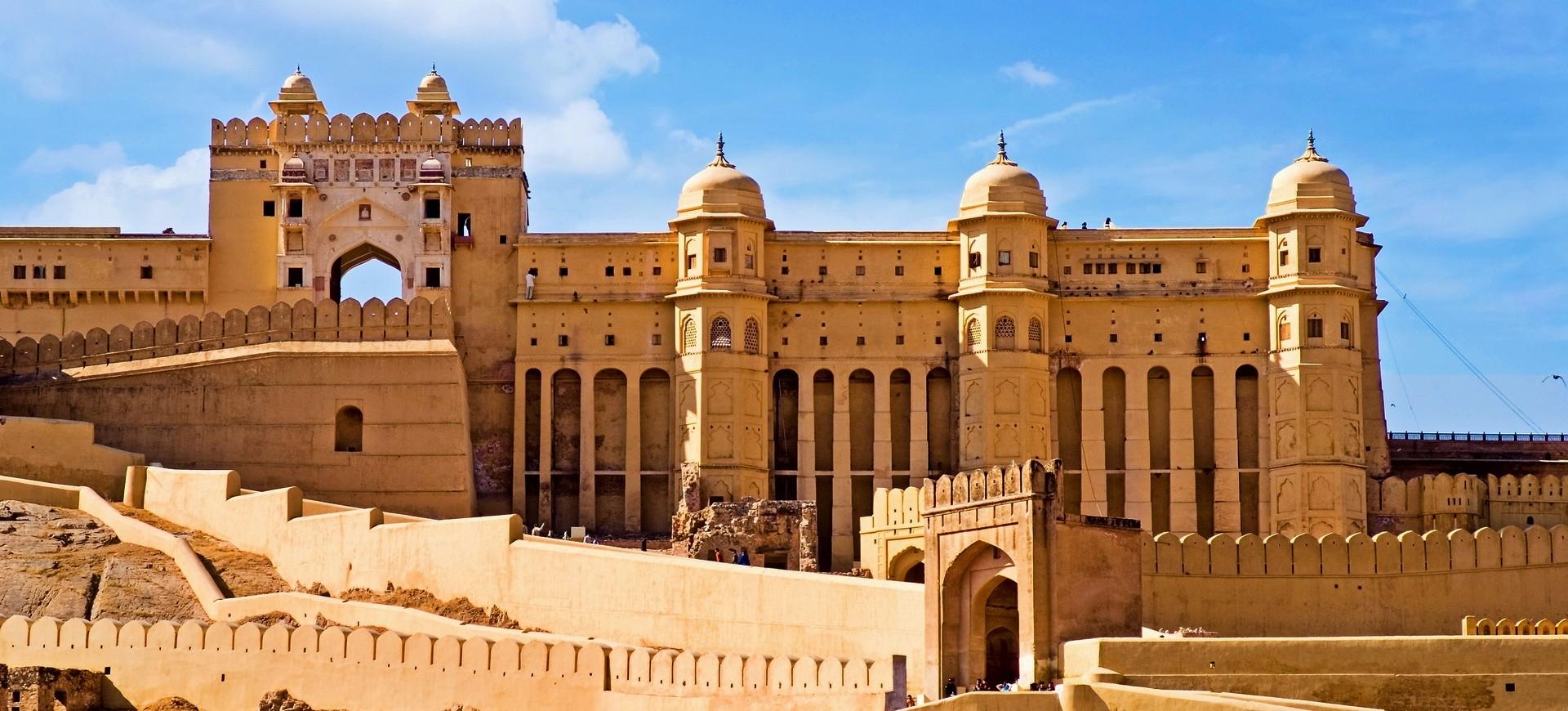 Inde du Nord Agra Amber Fort