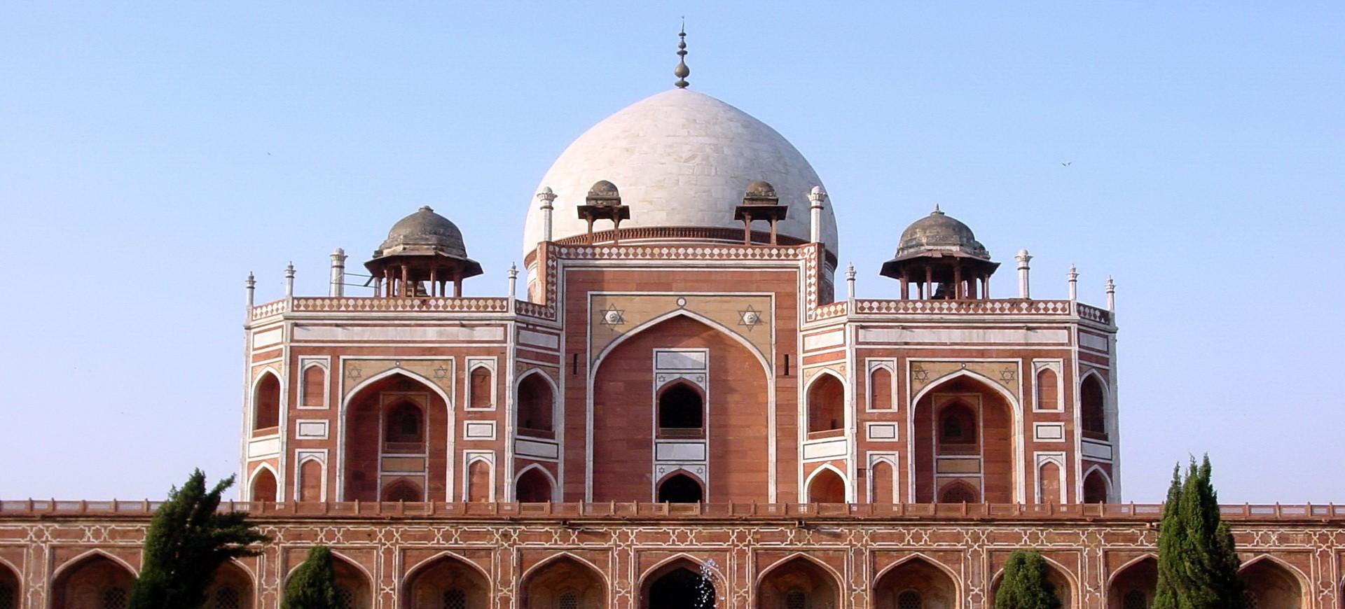 Tombe de Empereur Moghol Humayoun à Delhi