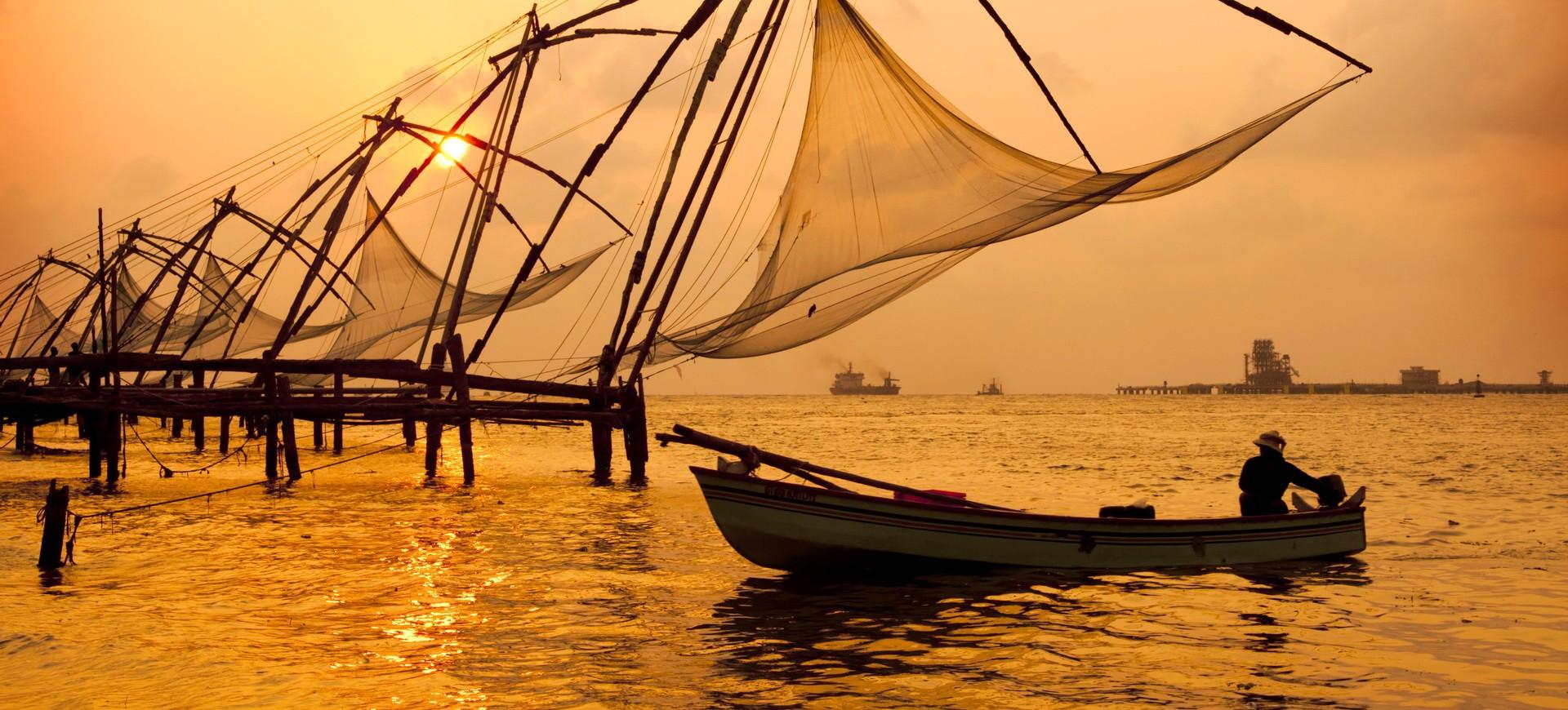 Circuit en Inde du sud, Golfe du Bengale et Kerala