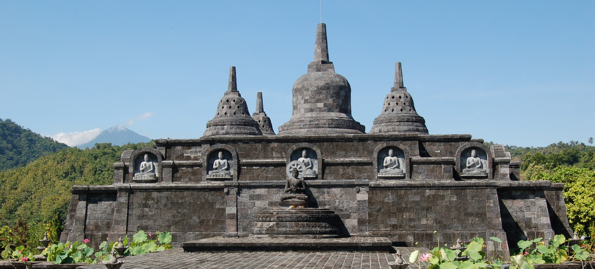 Monument Banjar à Bali
