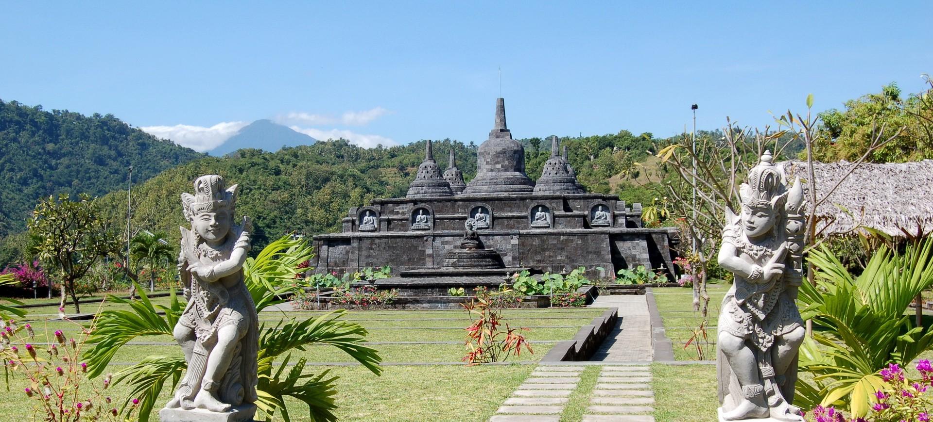 Banjar à Bali en Indonésie