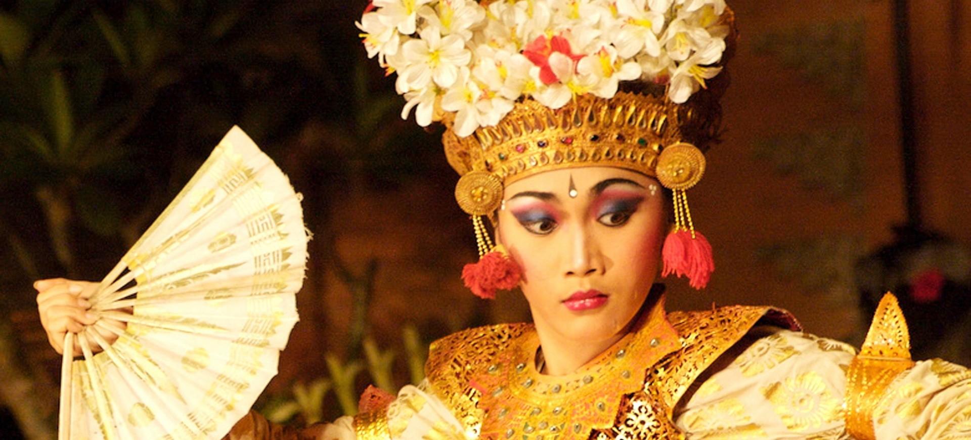 Indonésie Bali Danseuse Balinaise