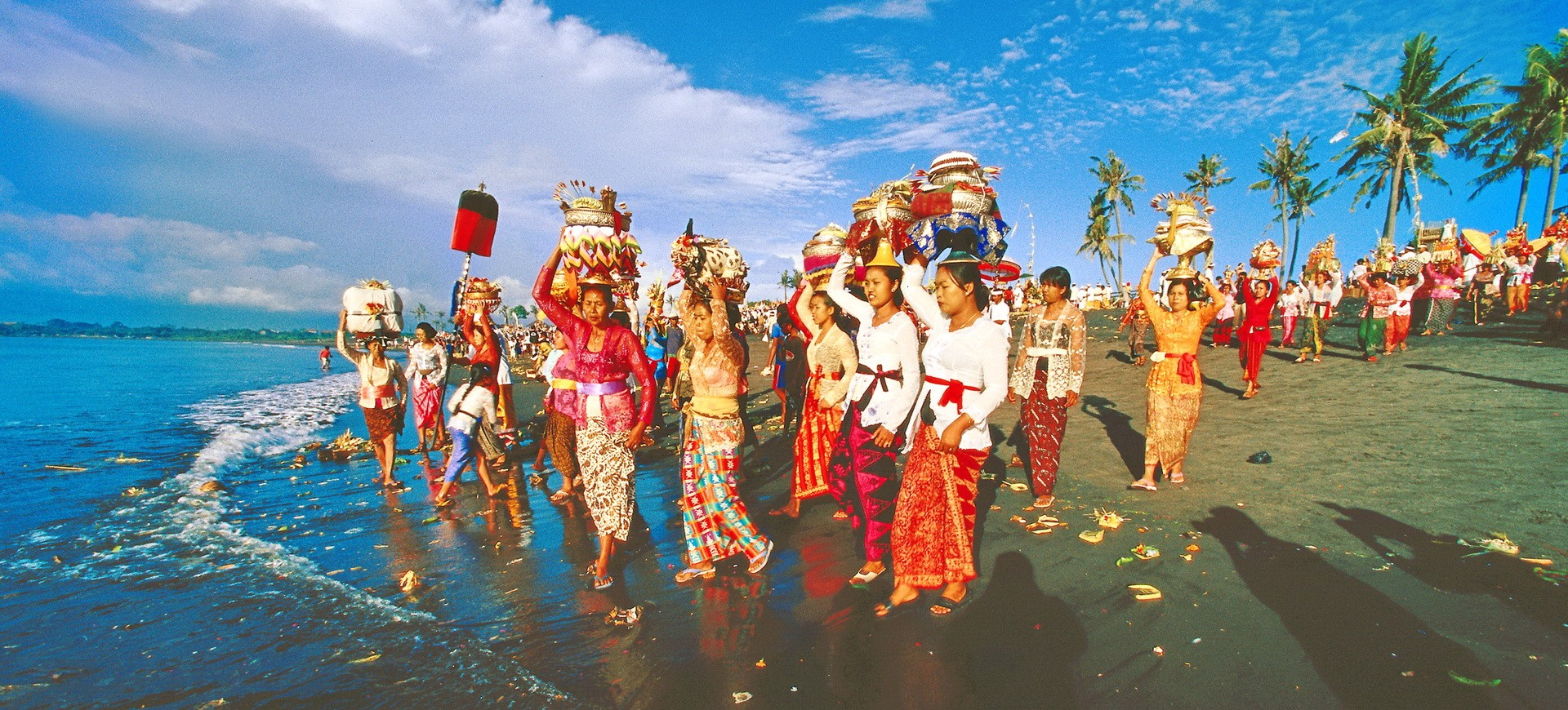 Indonésie Bali Fête de Besakhi