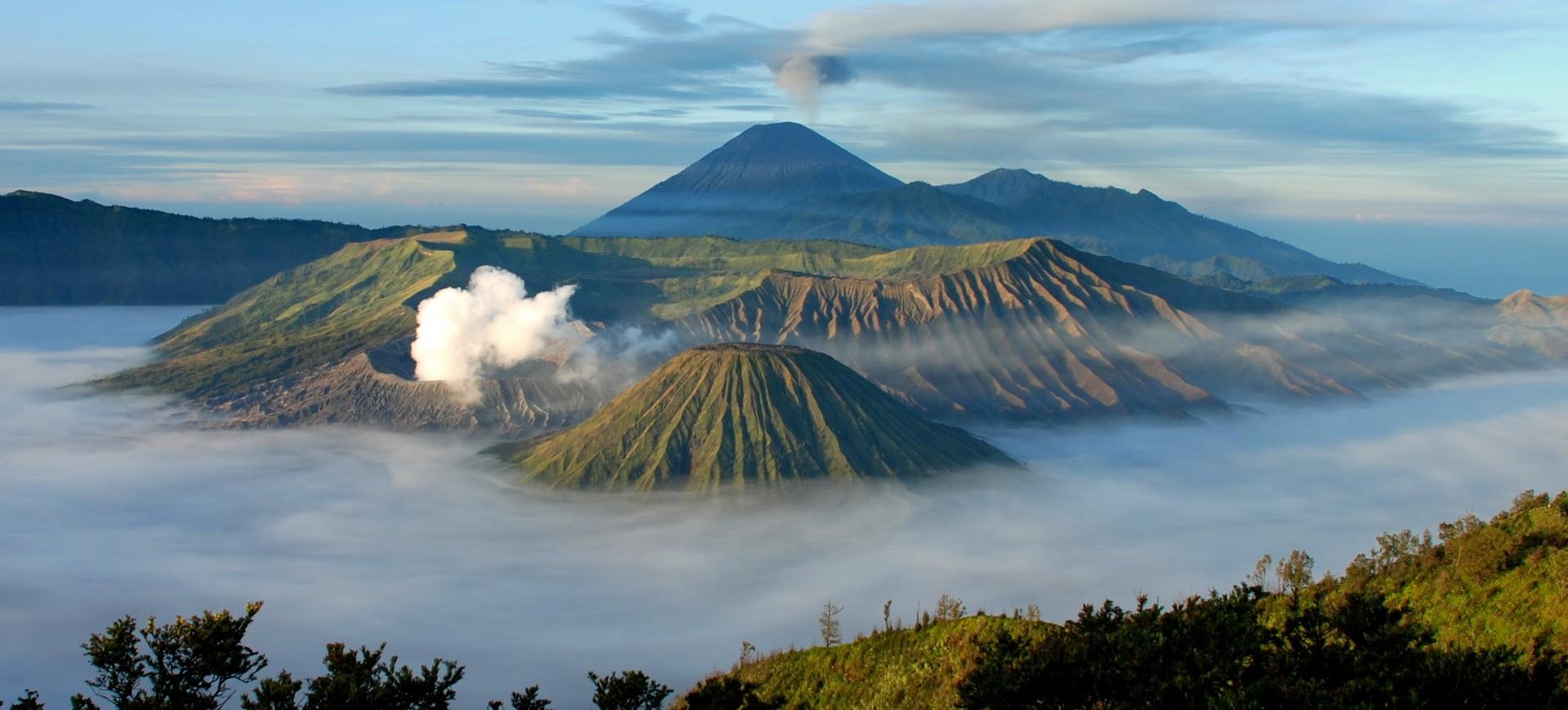 Mont Bromo à Java