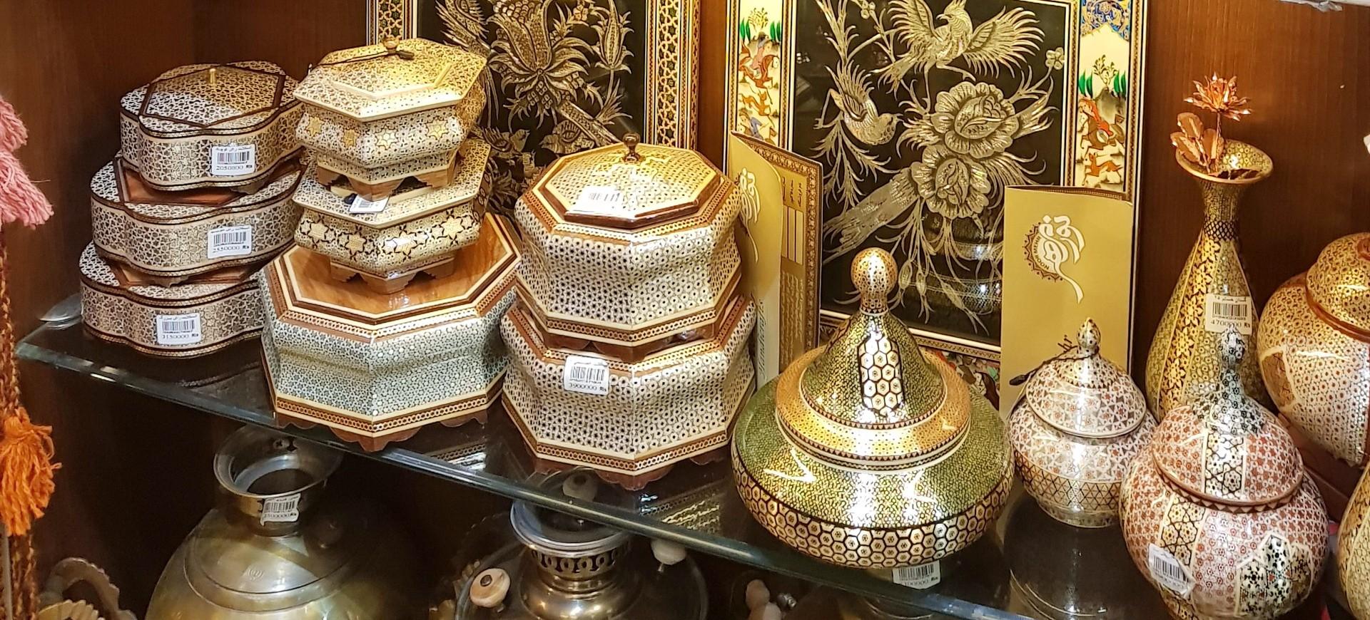 Bazar et Artisanat à Téhéran