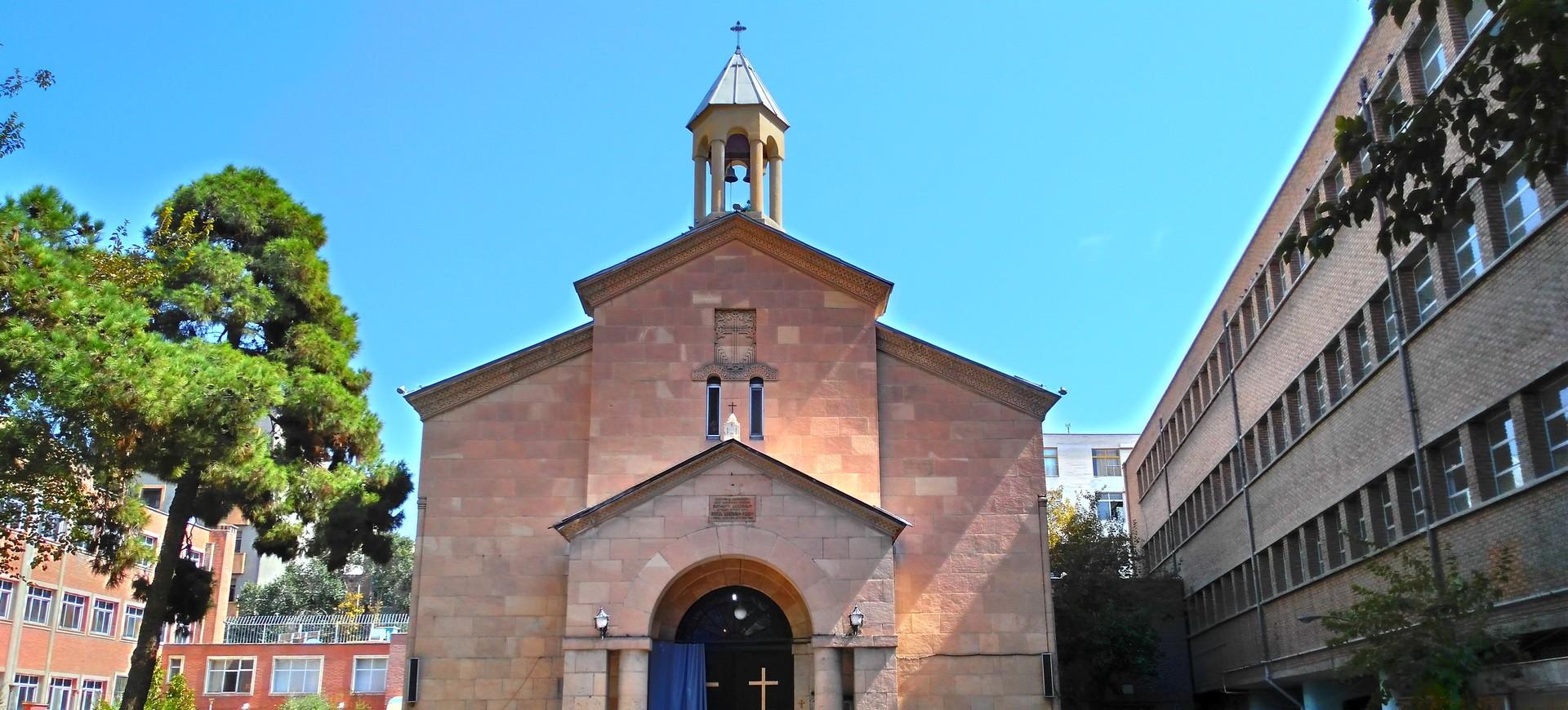 Iran Téhéran Eglise Arménienne Sainte Marie