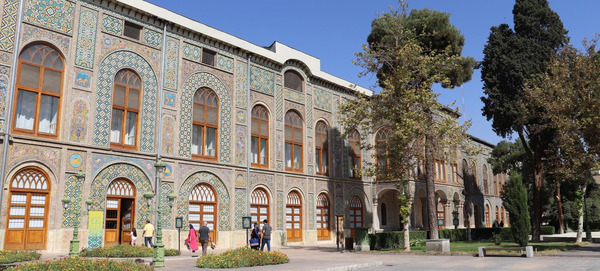 Palais Golestan à Téhéran