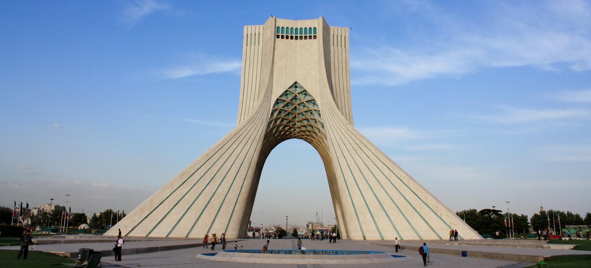 Tour Azadi à Téhéran