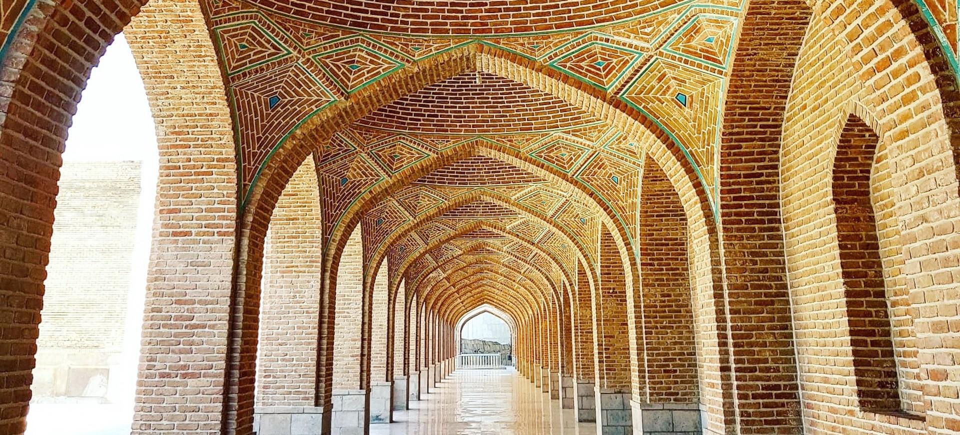 Mosquée Bleue à Tabriz