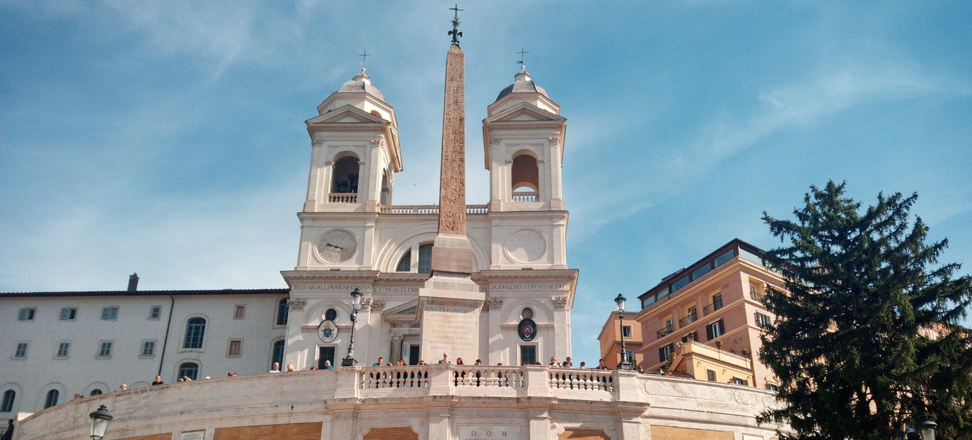 Italie Rome Trinité dei Monti