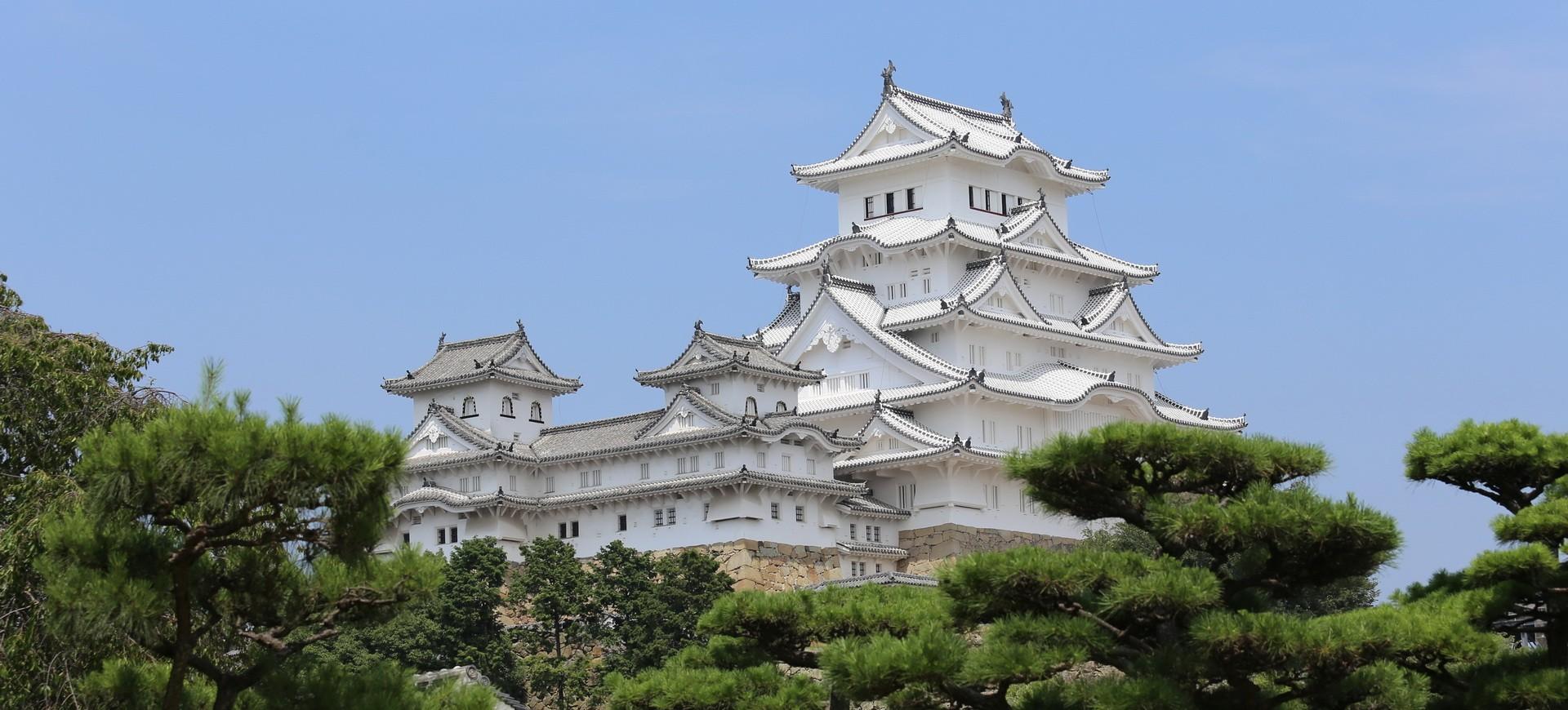 Japon Himeji Fort