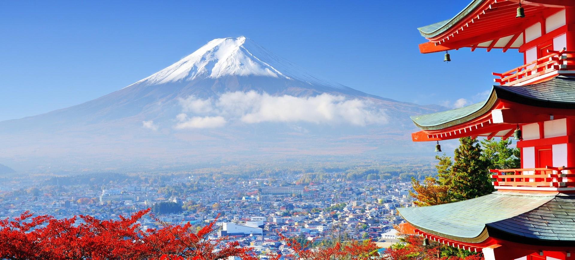 Mont Fuji Yama au Japon