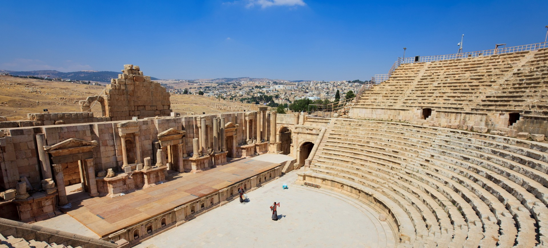 Amphithéâtre à Jerash