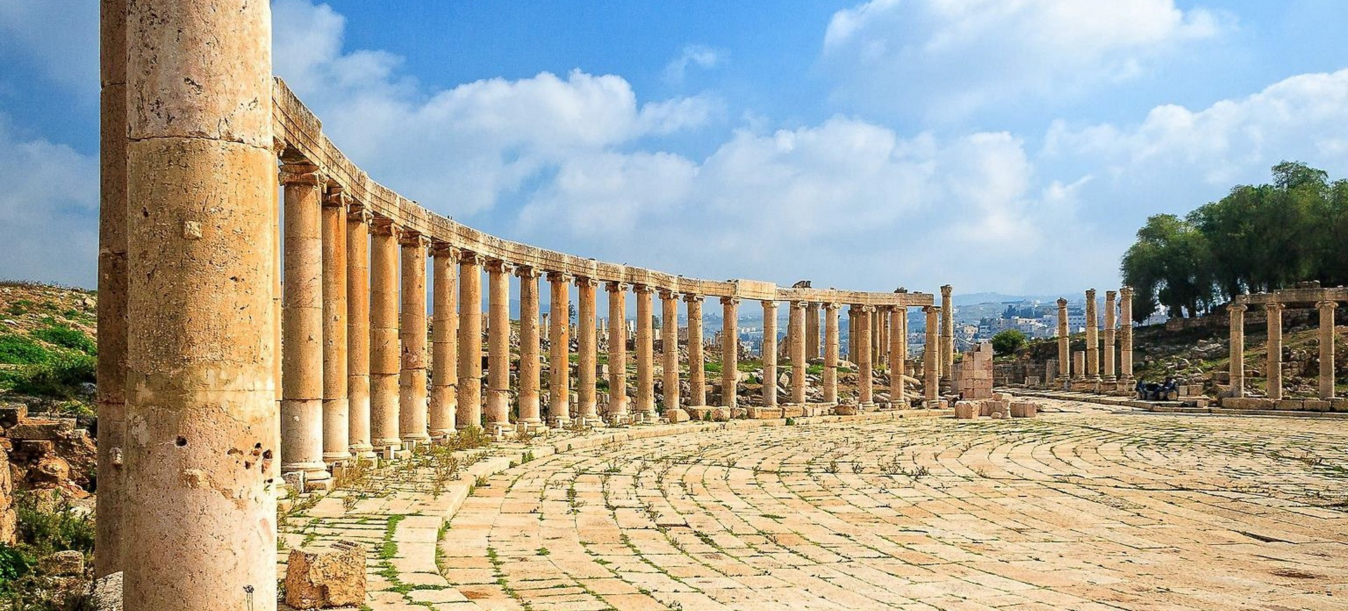 Jerash site antique