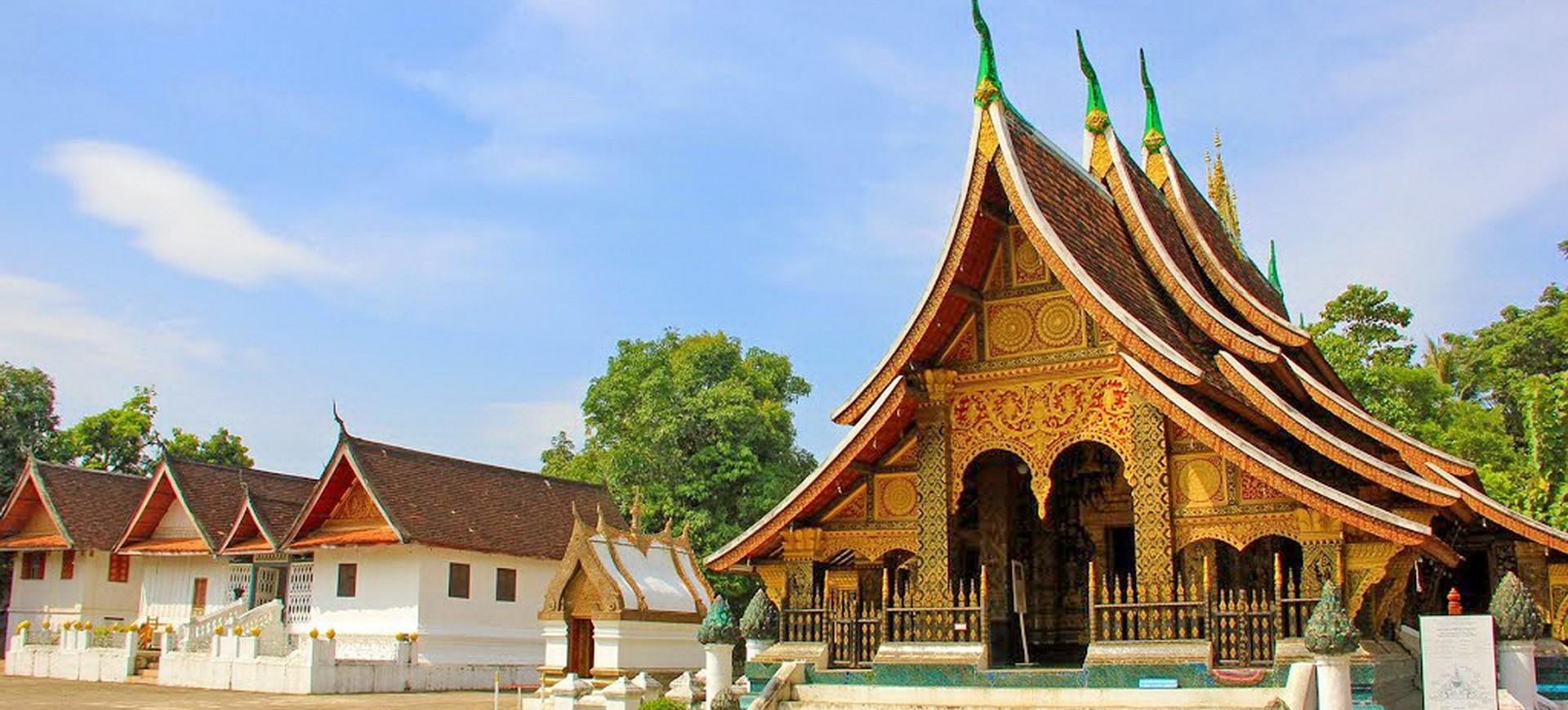 Wat Xieng Thong à Luang Prabang au Laos
