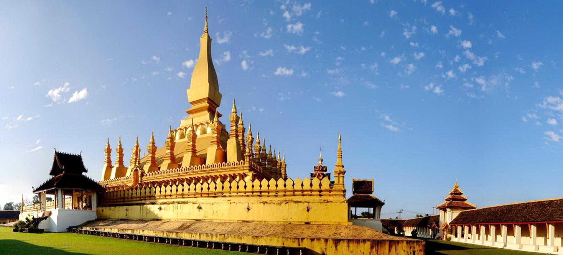 That Luang à Vientiane au Laos
