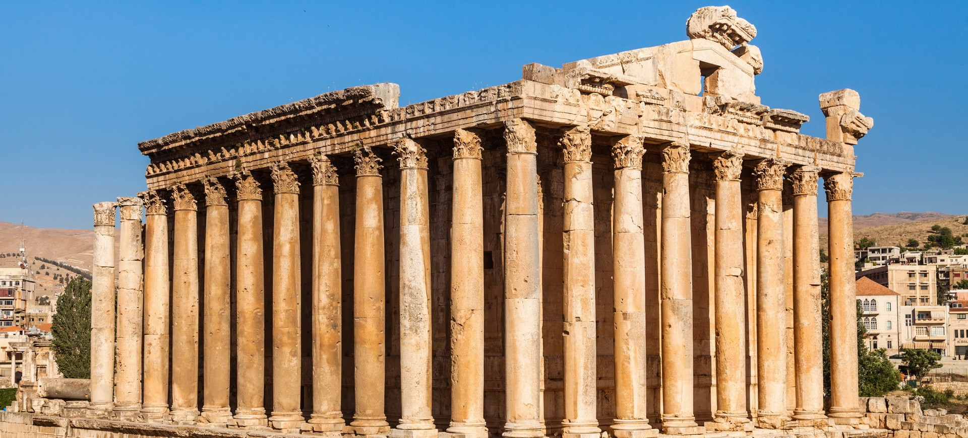 Liban Baalbeck Temple de Bacchus
