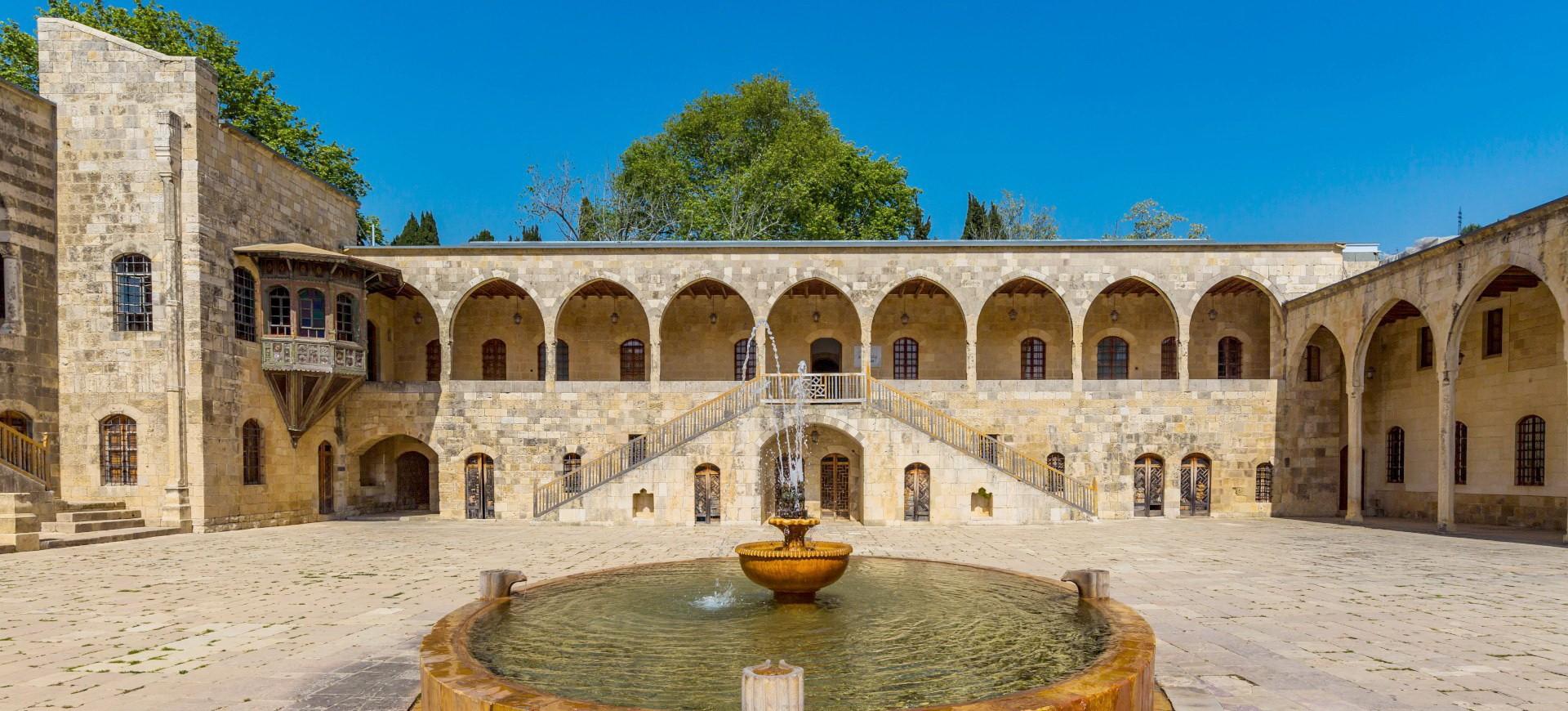 Le Palais de Beit Eddine à Beirout au Liban