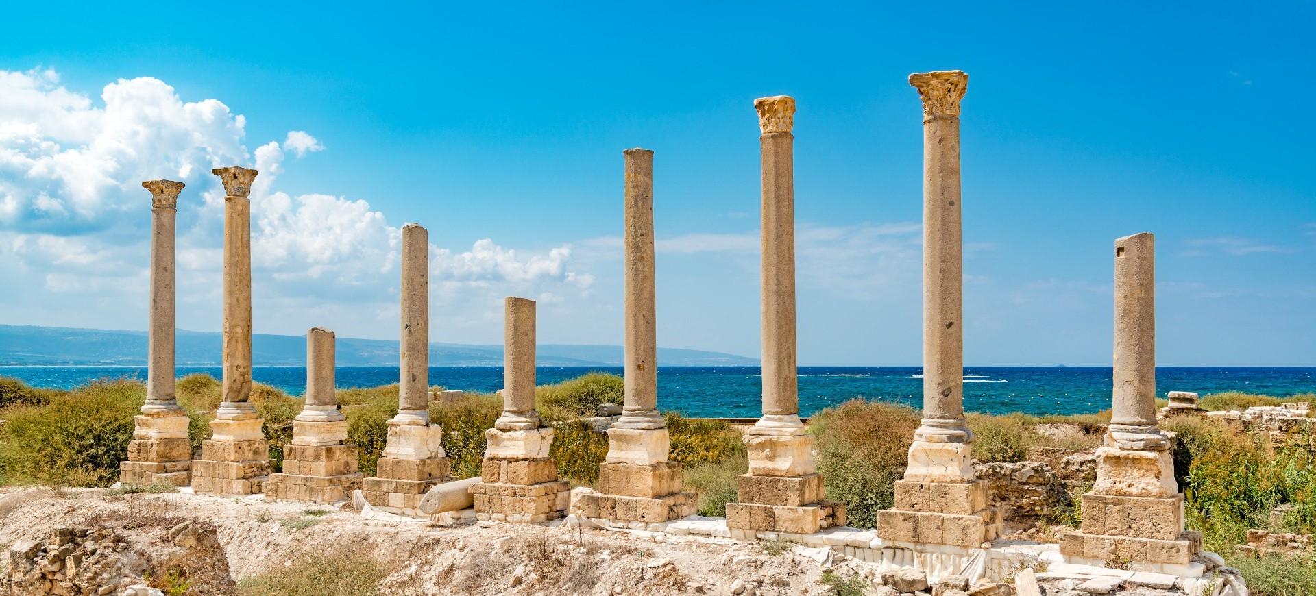 Le site antique de Tyr au Liban