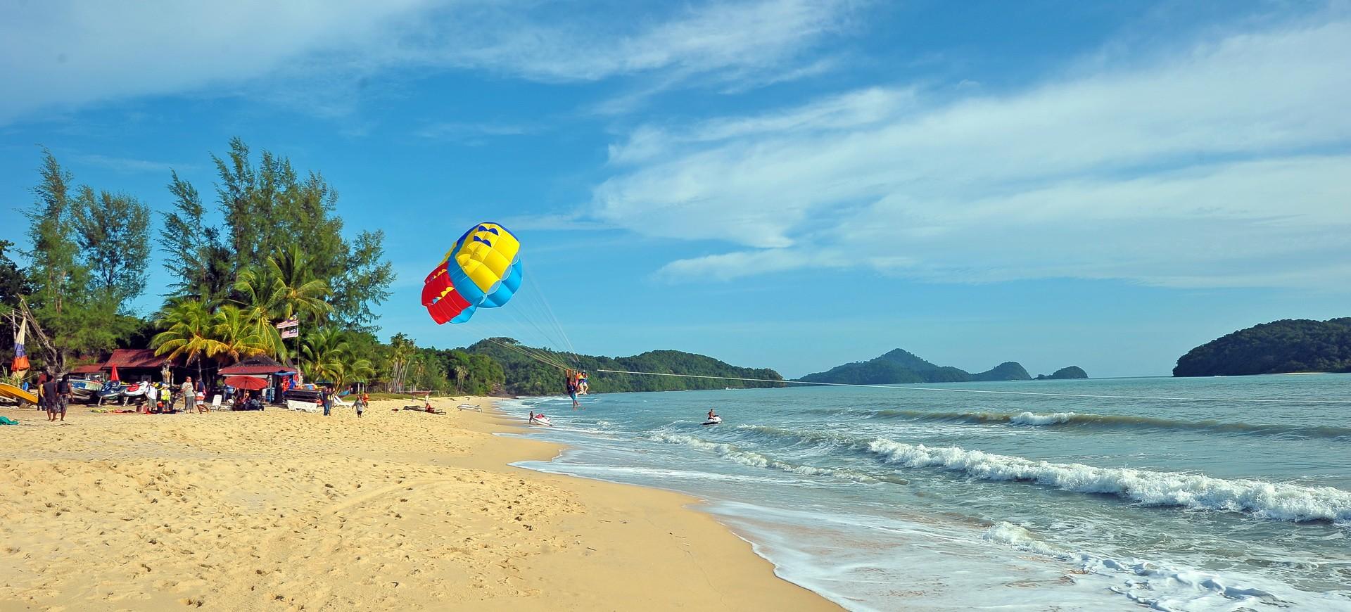 Malaisie Ile de Langkawi Pantai Cenang Plage