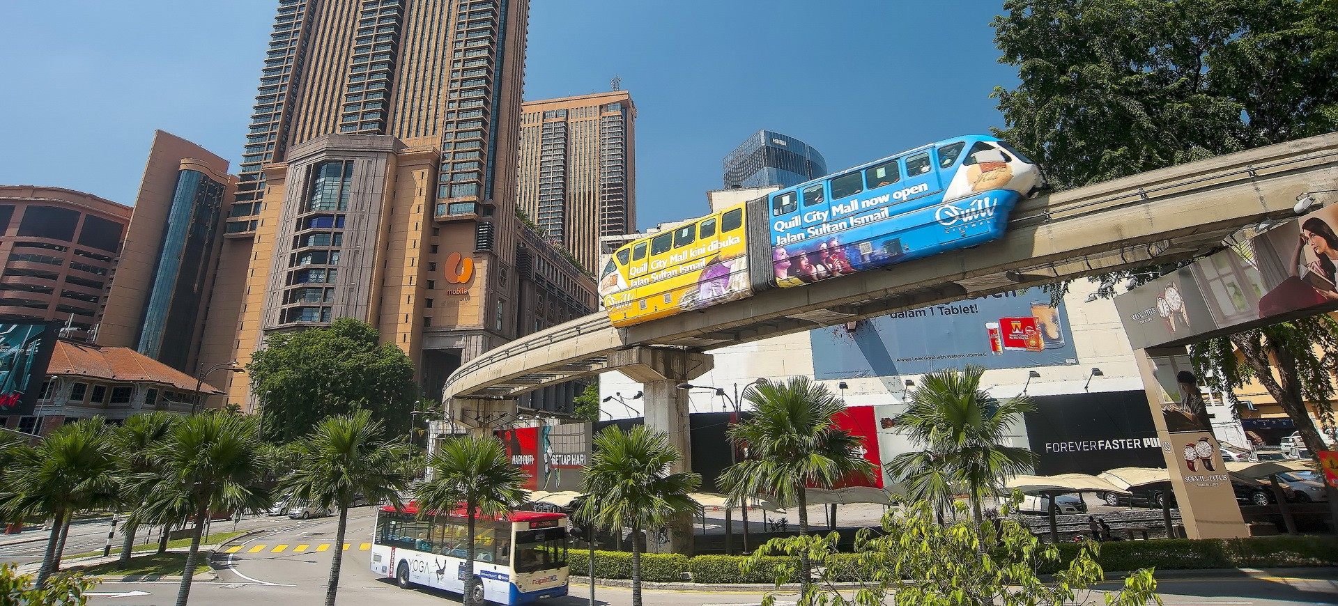 Malaisie Kuala Lumpur Monorail