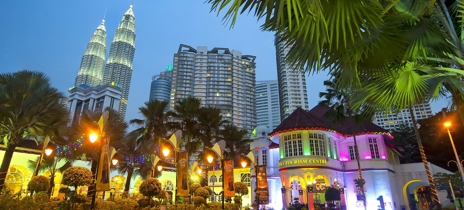 Malaisie Kuala Lumpur Tours Petronas Twin Towers by night