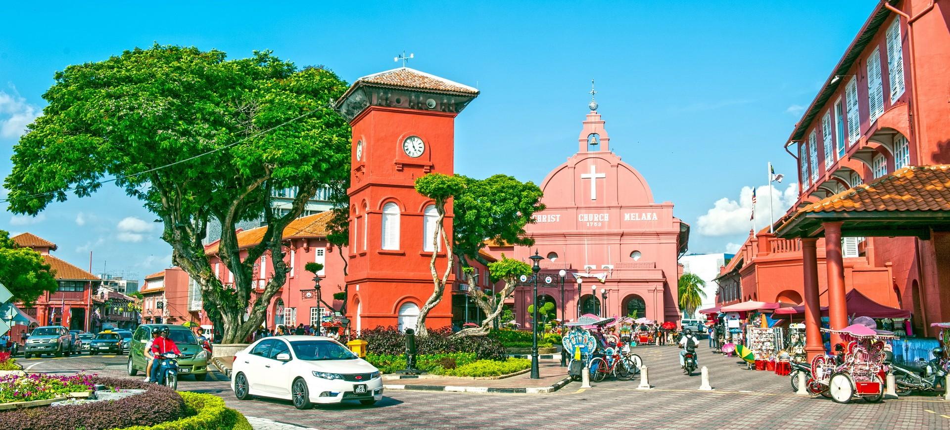 Malaisie Melacca Eglise Stadhuys