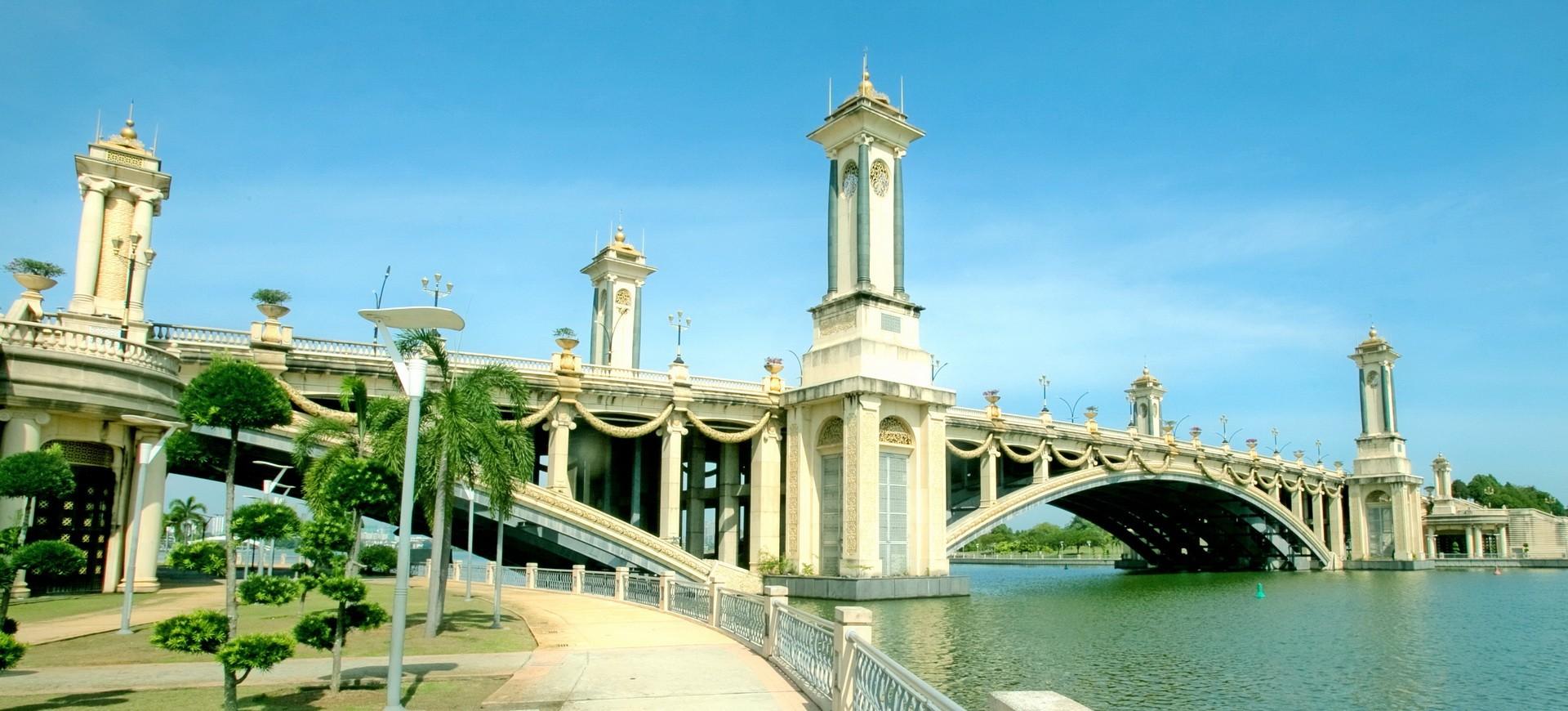 Malaisie Putrajaya Pnt Jambatan Seri Gemilang