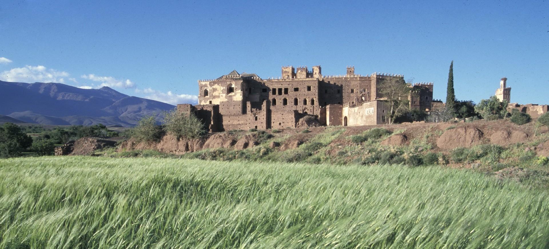 Casbah de Telouete au Maroc