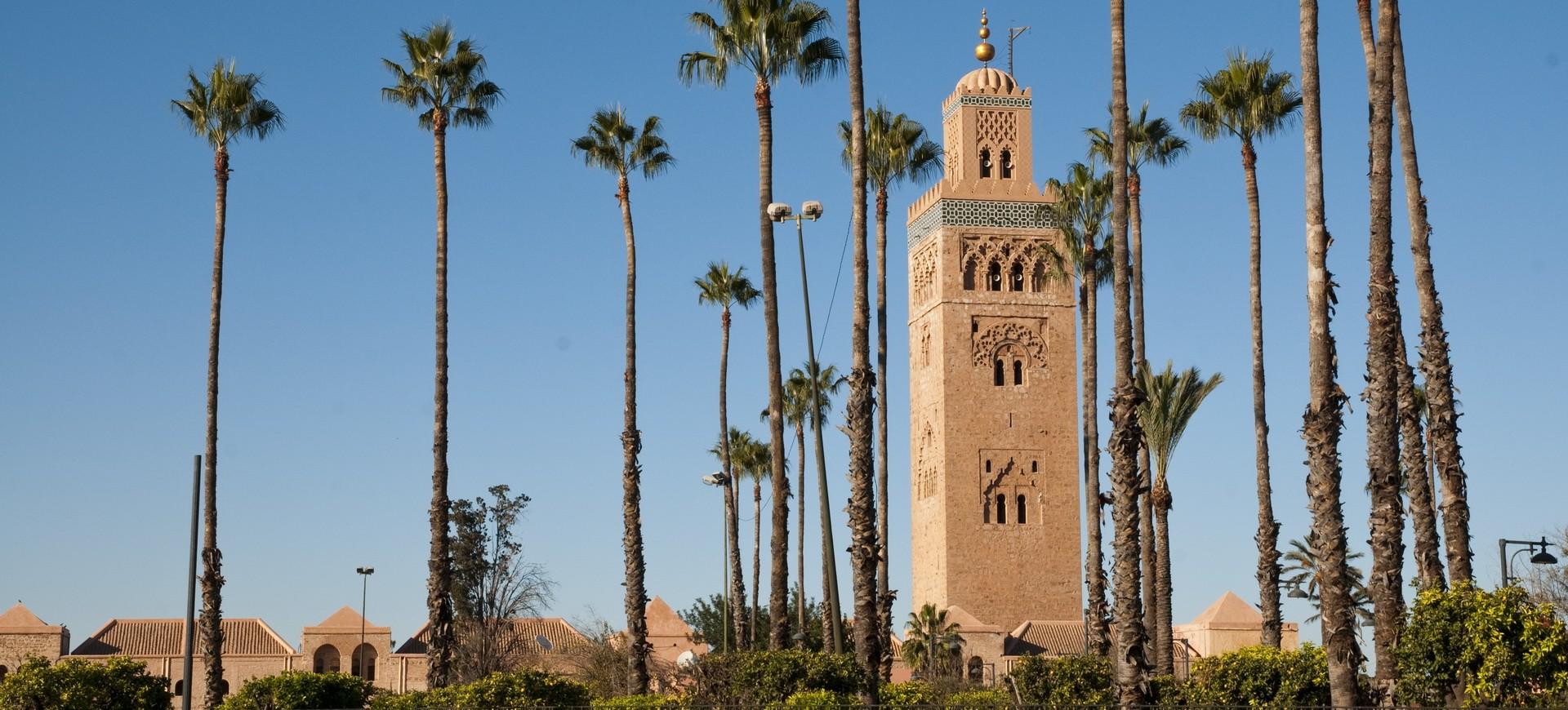 La Koutoubia à Marrakech au Maroc
