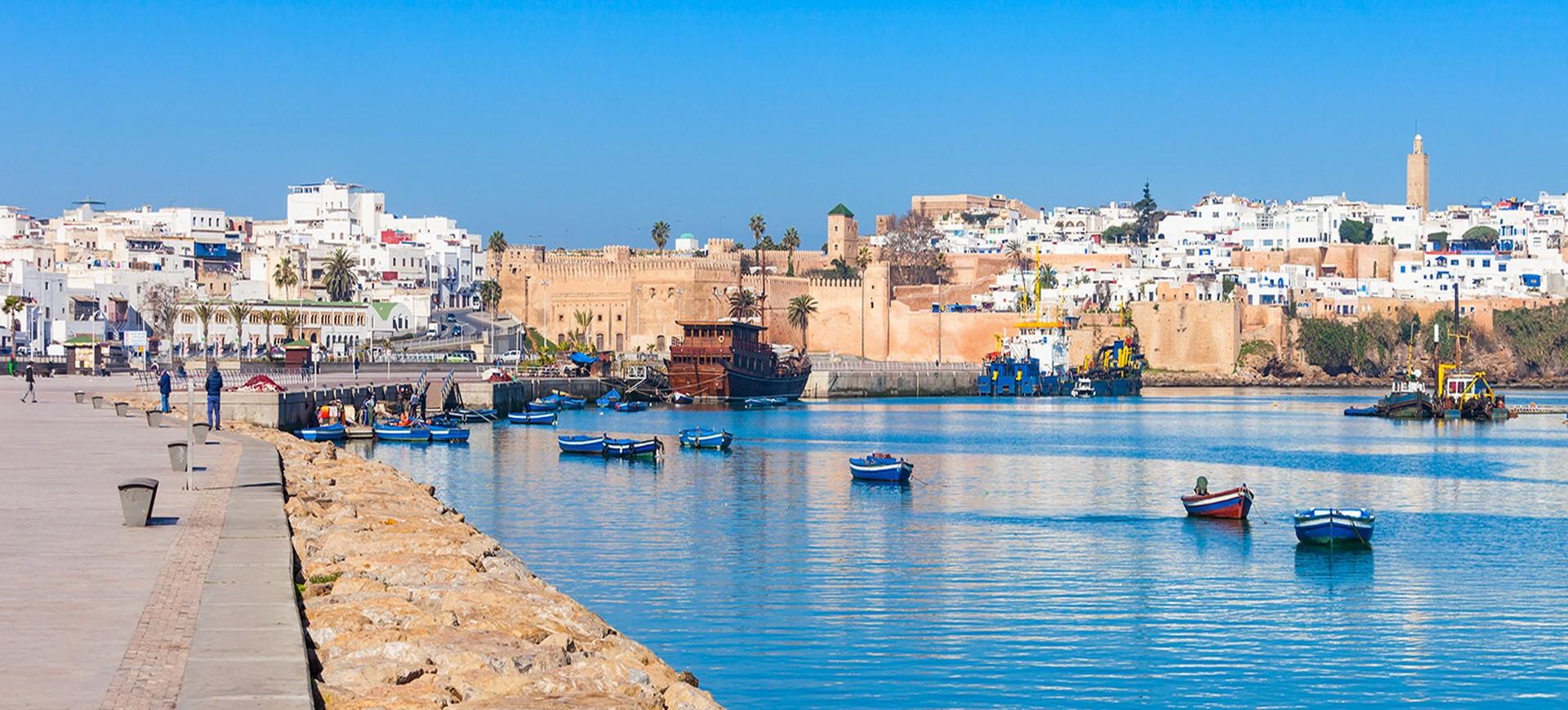 Port à Rabat au Maroc