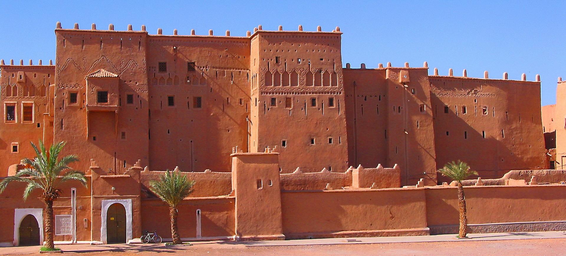 Une maison traditionnelle à Taourirt au Maroc