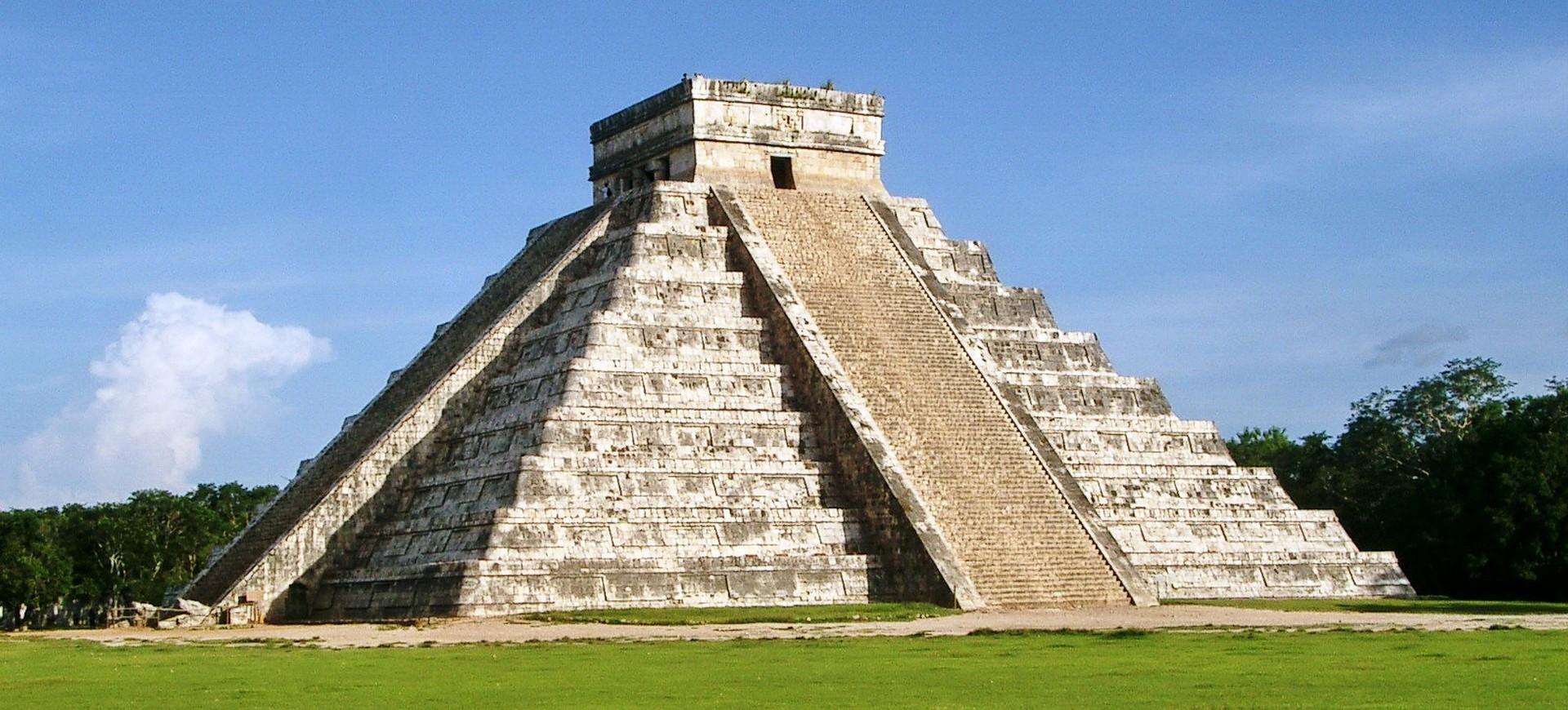 Amérique Centrale Mexique Chichen Itza Pyramide Kukulcan