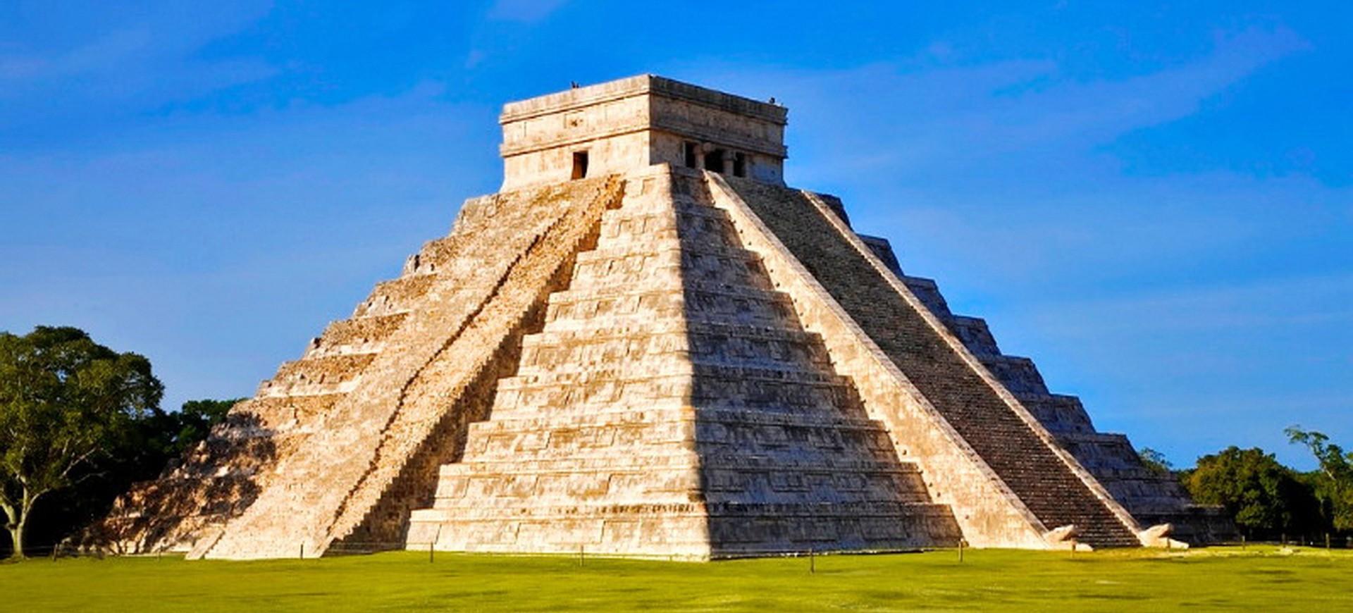 Pyramide à Chichen Itza
