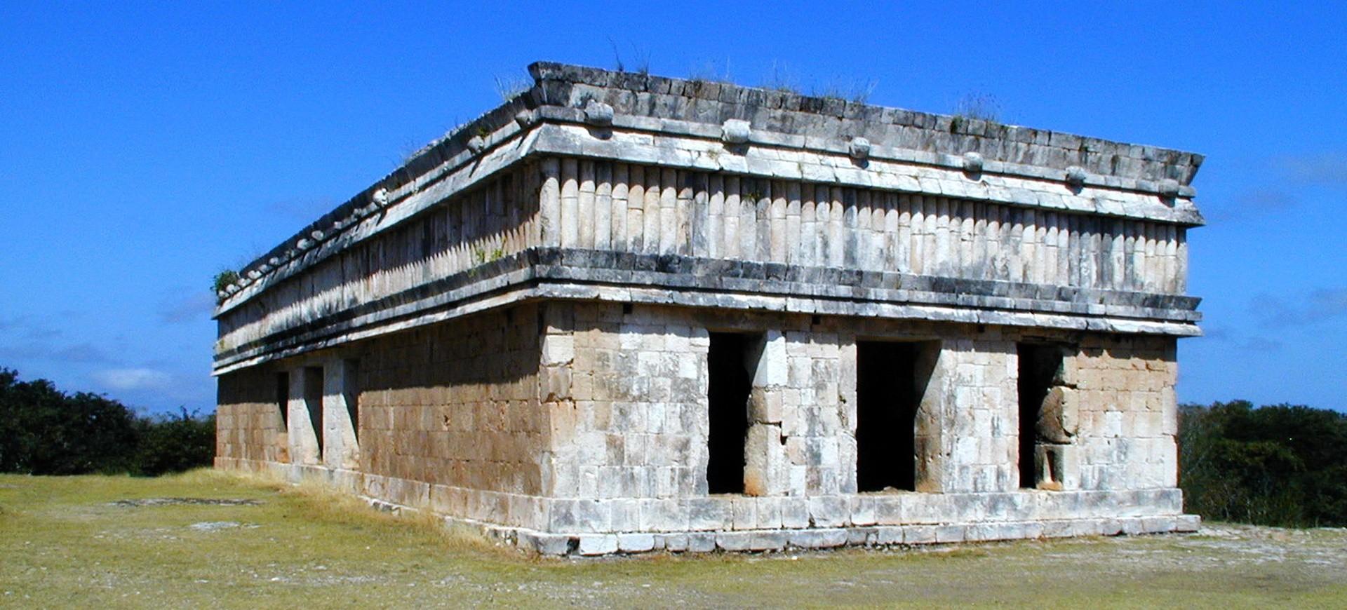 Site Aztèque à Monte Alban au Mexique