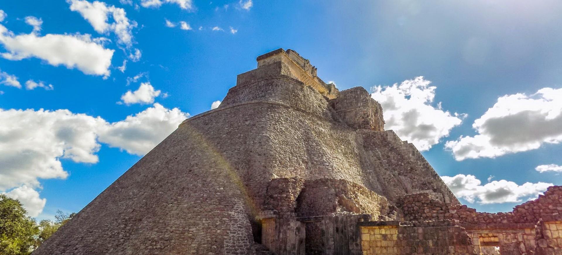 Mexique Uxmal site archéologique