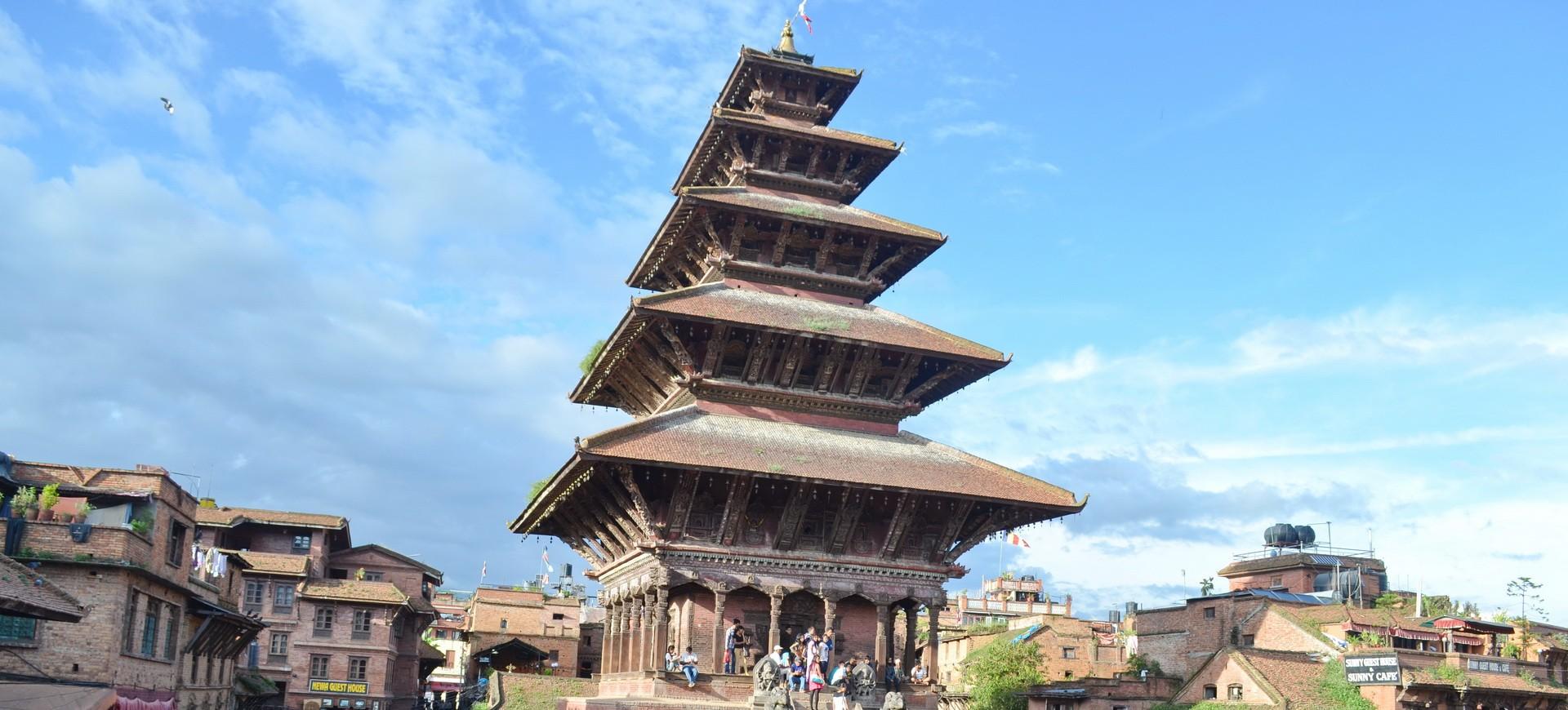 Népal Bhadgaon ou Bhaktapur