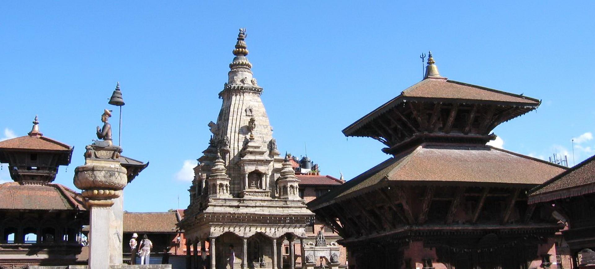 Népal Kathmandou Bhaktapur ou Bodhnath Dubar Square