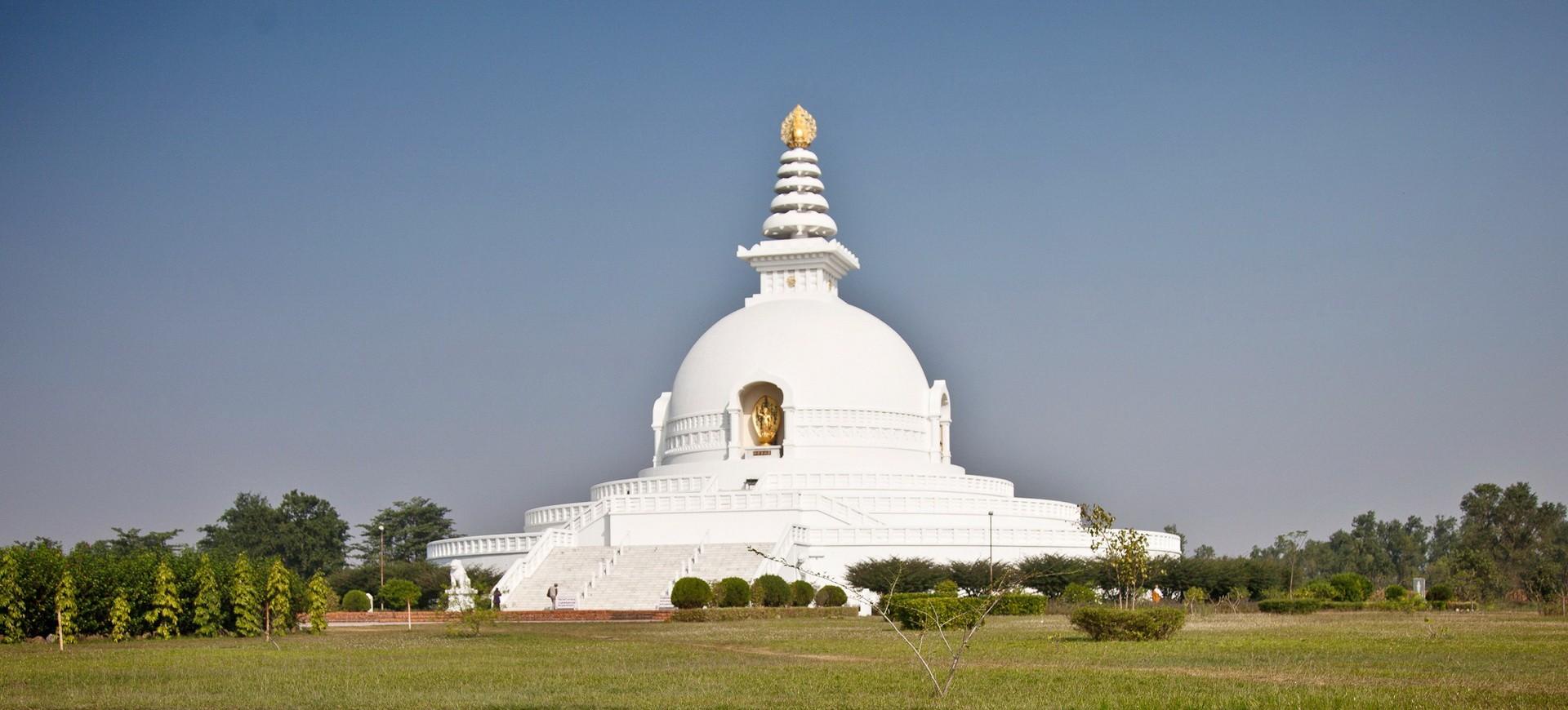 Népal Lumbini Stupa