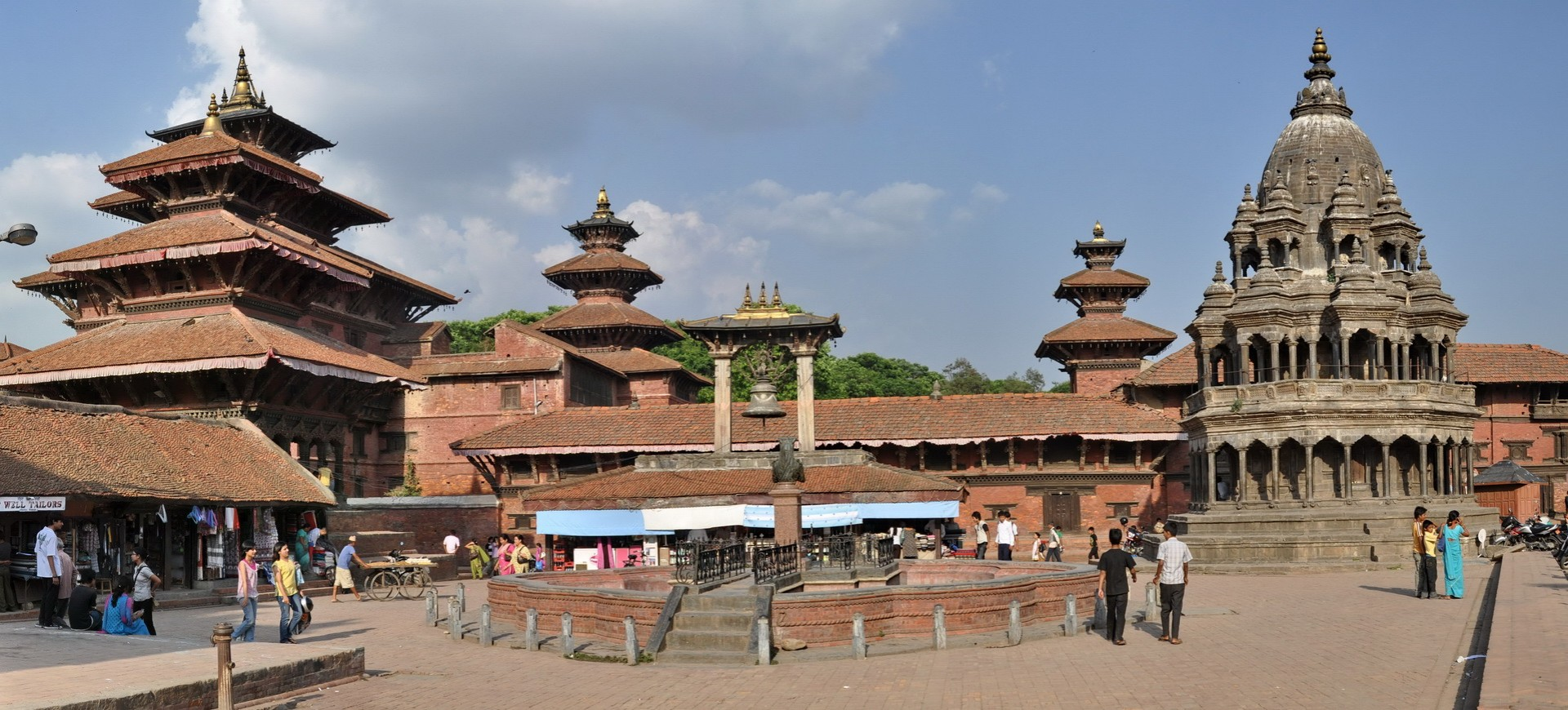 Dubar Square à Patan Kathmandou