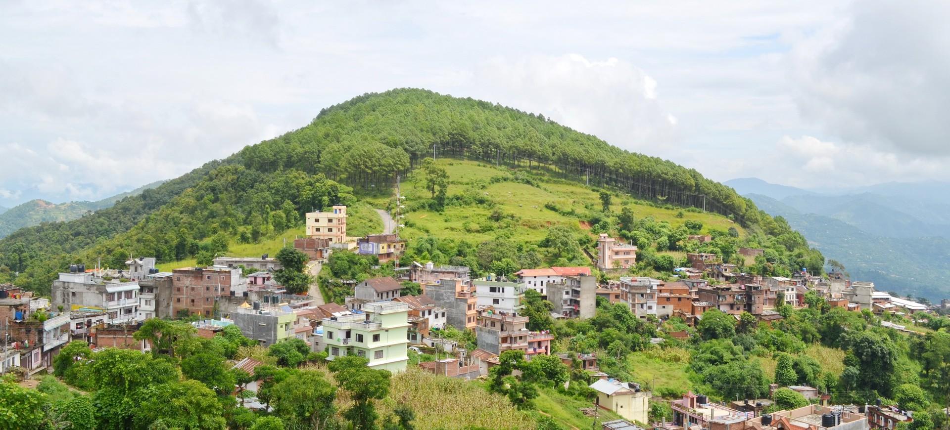 Népal Tansen Village